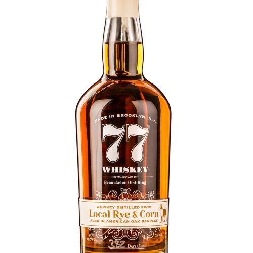 77 Whiskey: Local Rye & Corn
