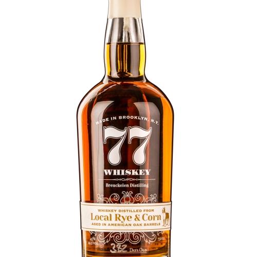 77 Whiskey: Local Rye & Corn