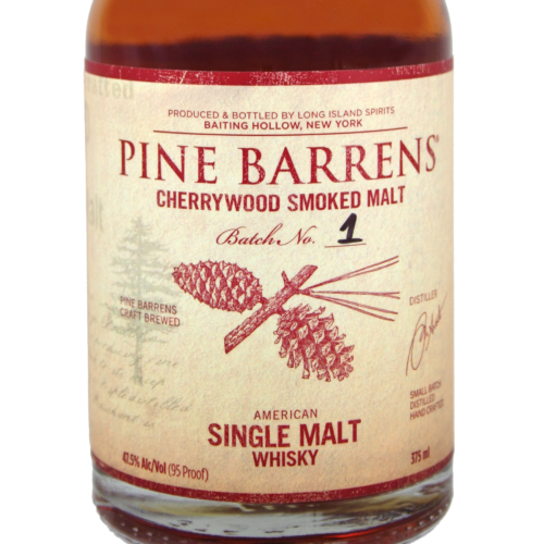 Pine Barrens Cherrywood Smoked Single Malt