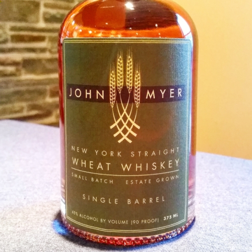 John Myer New York Straight Wheat Whiskey-Single Barrel