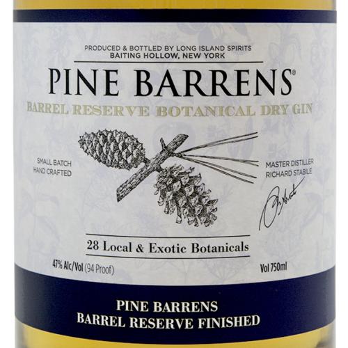 Pine Barrens Reserve Botanical Dry Gin