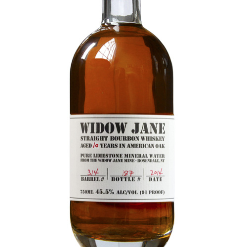 Widow Jane 10yr Single Barrel Bourbon